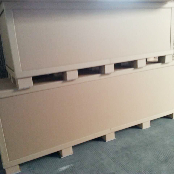 Integrated with the end of supporting honeycomb carton chart
