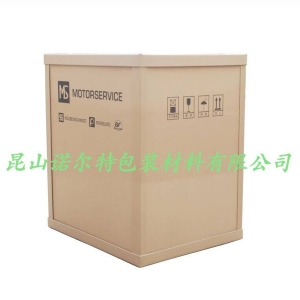 Plug-in footless honeycomb carton assembly diagram